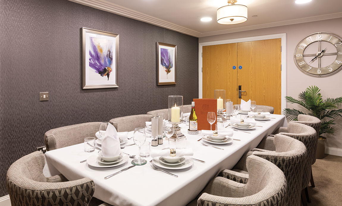 Potters Grange dining